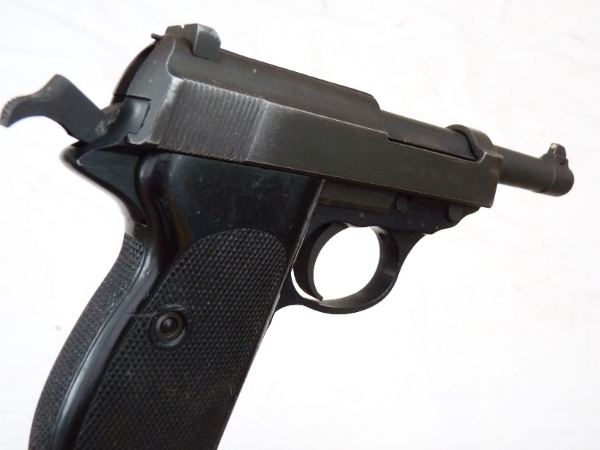 Deactivated Walther P38 9mm automatic pistol dated 1958 SOLD
